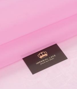Bubble gum rozā zīda organzas audums