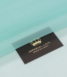 Tiffany zaļš zīda organzas audums