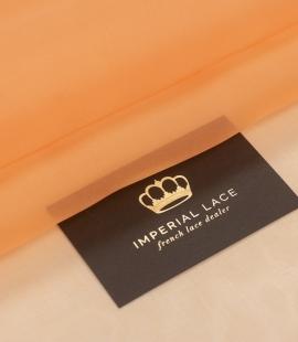 Oranžs zīda organzas audums