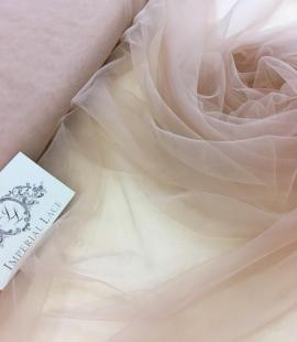 Powder tulle fabric