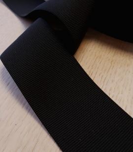 Black rubber ribbon