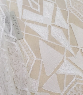 White Lace Fabric, French Lace