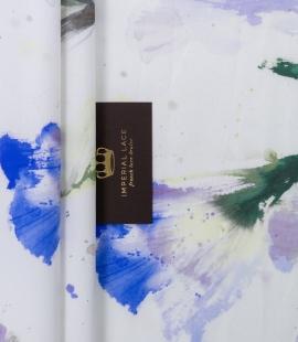 Mikodo poliestera daudzkrāsains printēts audums