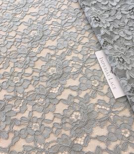 Pistachio lace fabric