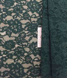Green Lace Fabric