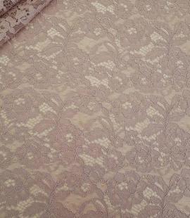 Cappuccino Lace Fabric
