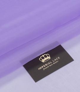 Violets zīda organza audums