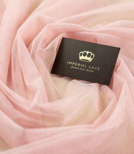 Veci rozā mīksts tilla audums