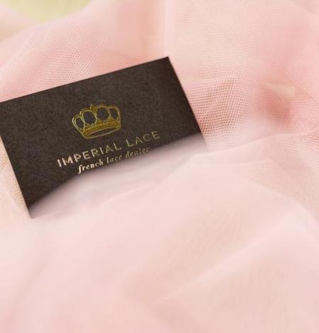 Veci rozā mīksts tilla audums. Photo 8