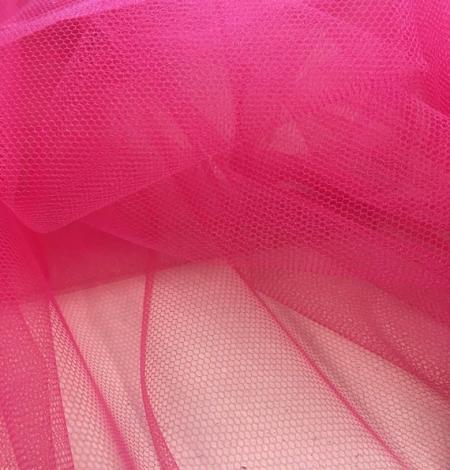 Fuksijas sarkanā krāsā tilla audums. Photo 6