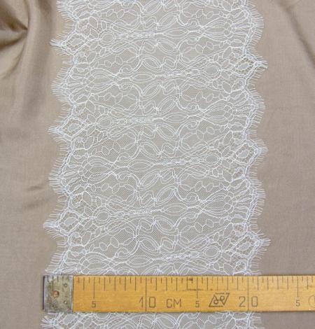 Ziloņkaula abstrakta raksta chantilly mežģīņu mala. Photo 4