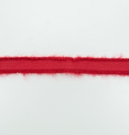 Sarkana lana vilnas lente. Photo 5