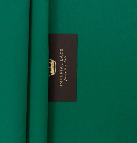 Rubīna zaļš zīda duchess audums. Photo 3