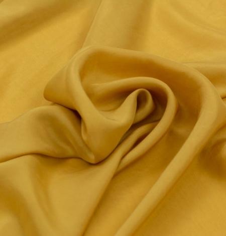 Sinepju dzeltens zīda oderes audums. Photo 4