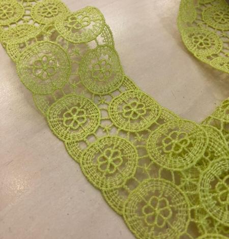 Salāt zaļa kokvilnas mežģīne. Photo 2