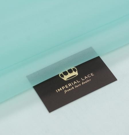 Tiffany zaļš zīda organzas audums. Photo 1