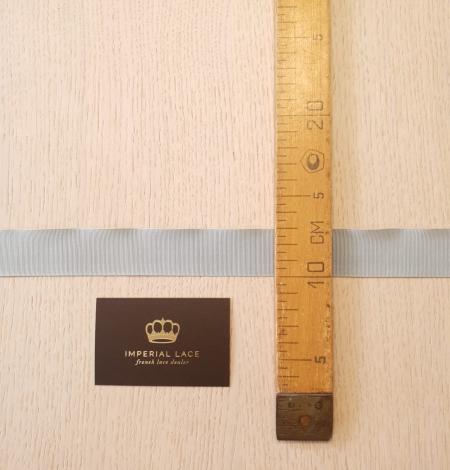 Gaiši pelēcīgi zila grosgrain lente. Photo 2