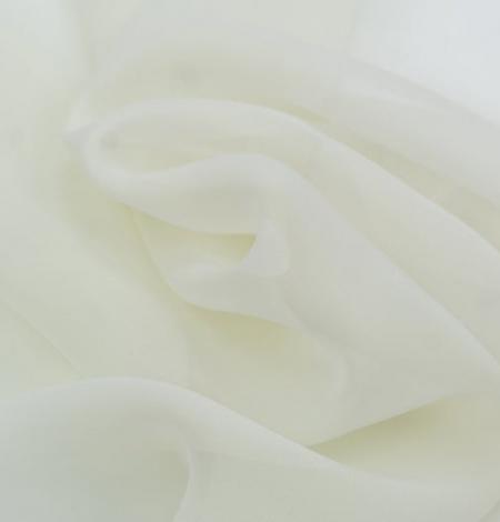 Ziloņkaula zīda organzas audums. Photo 6