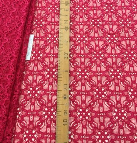 Pink lace fabric. Photo 9