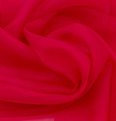 Fuksijas rozā zīda organzas audums. Photo 4