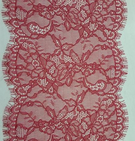 Sarkana chantilly mežģīnes maliņa. Photo 2