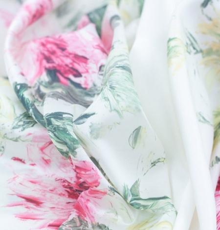 Mikodo poliestera daudzkrāsains printēts audums. Photo 6