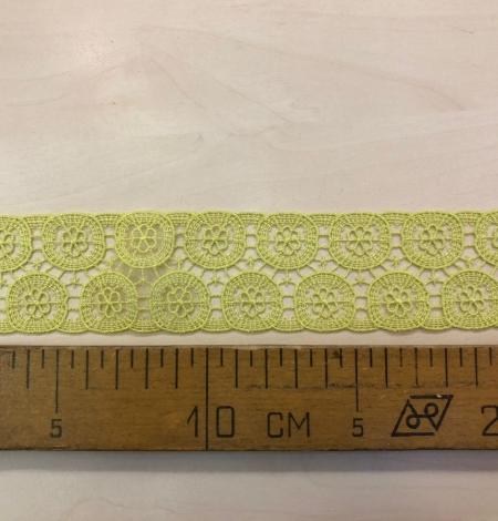 Salāt zaļa kokvilnas mežģīne. Photo 8