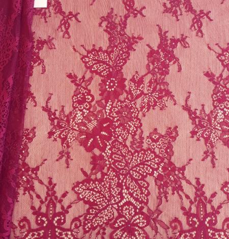 Tumši Sarkana Chantilly Mežģīne. Photo 3
