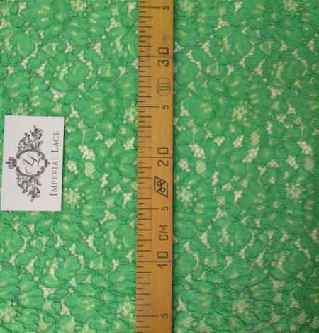 Apple Green Lace Fabric. Photo 3