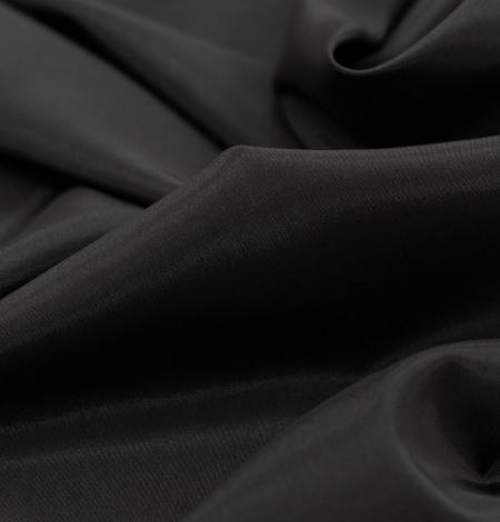 Tumši brūns Brunelli viskozes ar elastānu oderes audums. Photo 2