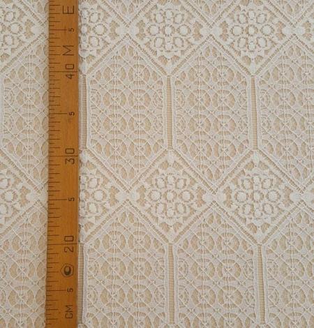 Ivory Lace Fabric. Photo 5