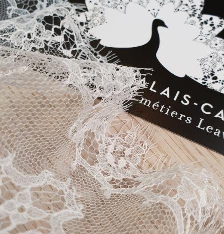 Piena balta Chantilly mežģines maliņa no Jean Bracq. Photo 3