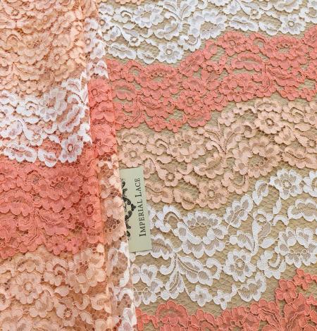 Multicolor lace fabric. Photo 3