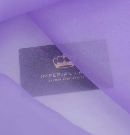 Violets zīda organza audums. Photo 2
