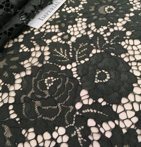 Green lace fabric. Photo 7