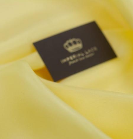 Dzeltens zīda oderes audums. Photo 2
