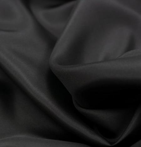 Melni pelēks zīda oderes audums. Photo 5