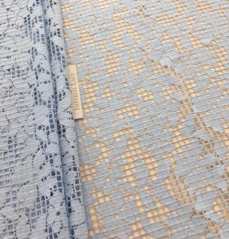 Blue lace fabric. Photo 4