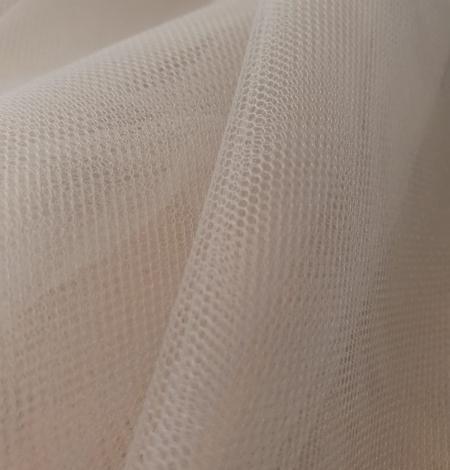 Zilganpelēks smalkas struktūras tilla audums no Itālijas. Photo 6