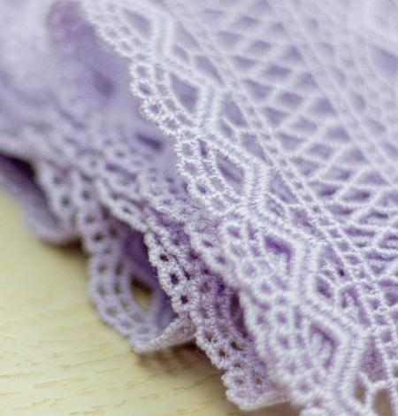 Lavandas violeta macrame mežģīņu maliņa. Photo 2