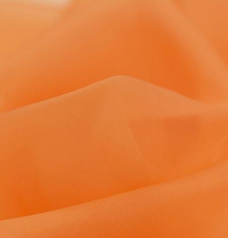 Oranžs zīda organzas audums. Photo 4
