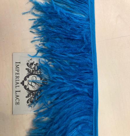 Koši zilas strausa spalvas. Photo 3