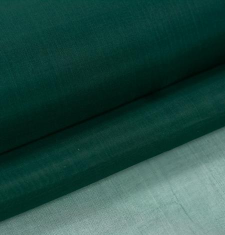Rubīna zaļš zīda organzas audums. Photo 8