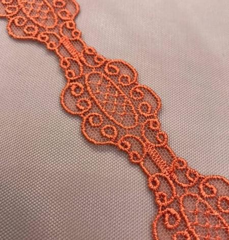 Oranža macrame mežģīņu apdare. Photo 1