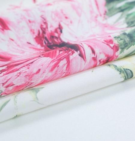 Mikodo poliestera daudzkrāsains printēts audums. Photo 7