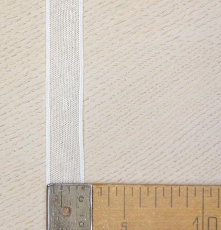 Piena balts tīkla raksta mežģīņu mala. Photo 4