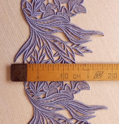 Ceriņu krāsas macrame mežģīņu apdare. Photo 5