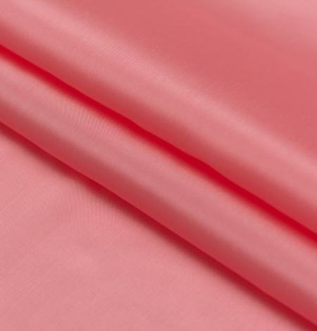 Rozā laša krāsas zīda oderes audums. Photo 4