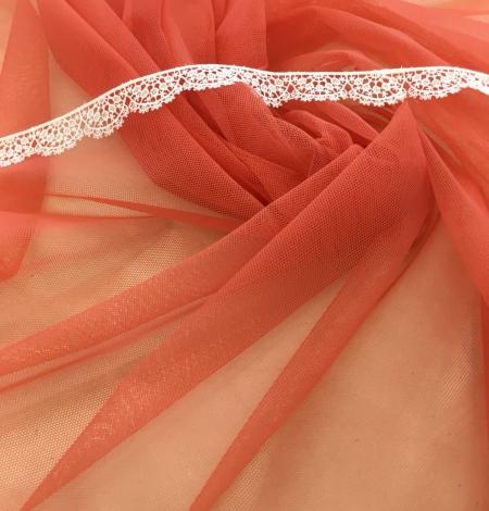 Oranžas krāsas tilla audums. Photo 6