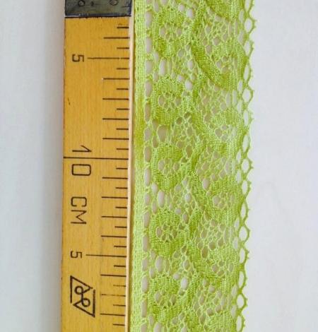 Zaļa kokvilnas mežģīnes maliņa. Photo 5